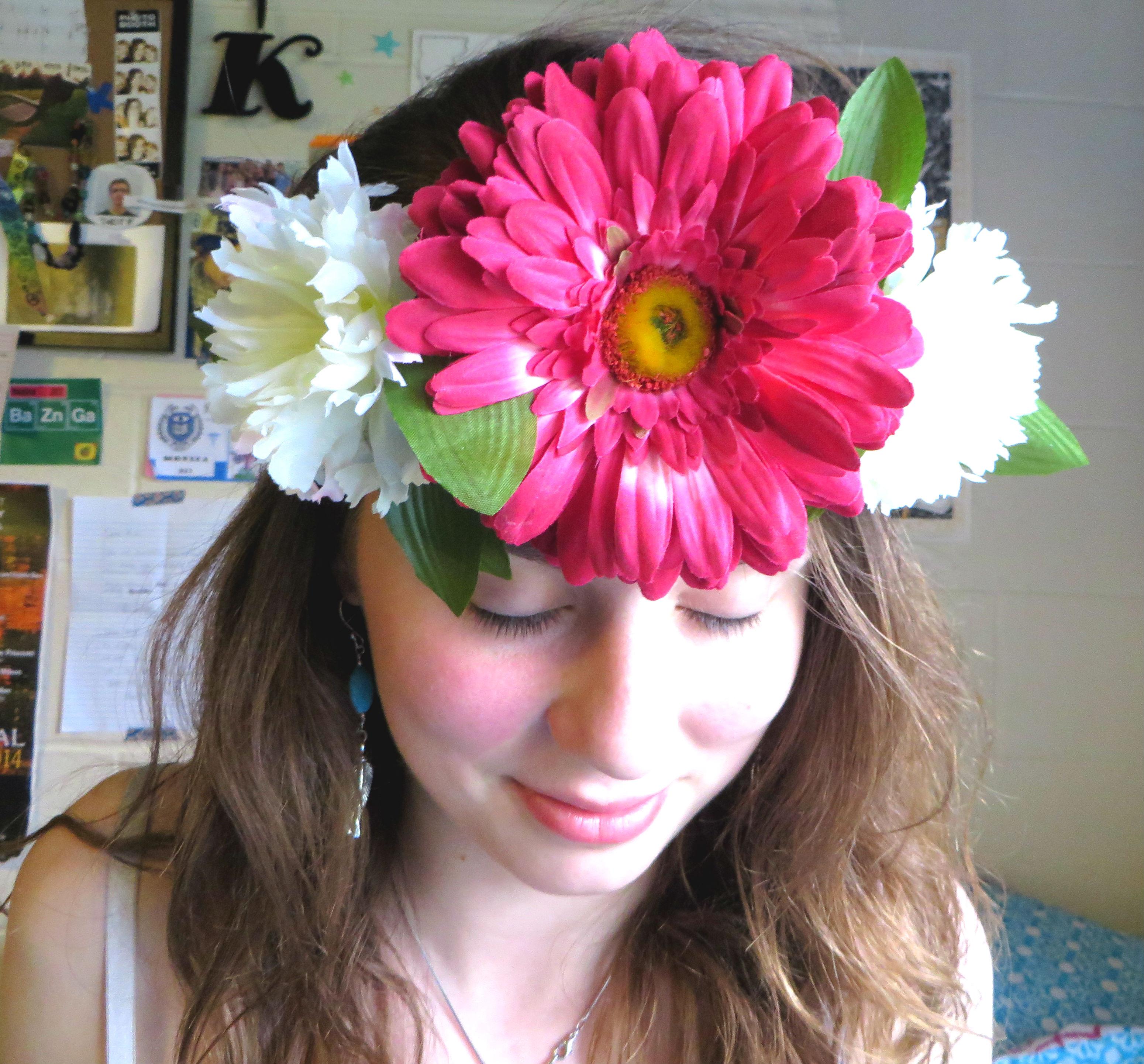 Flower Crown Color Me Kiki