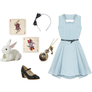 as you can see from this post im getting a little obsessed with polyvore haha you can follow me here id love to check out your accounts - Halloween Costumes You Already Own